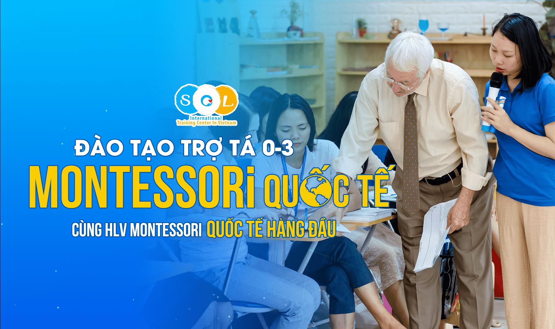 trợ tá montessori quốc tế